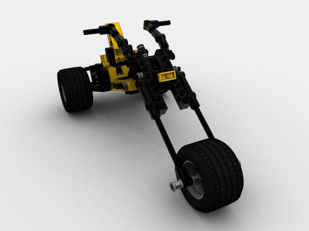 lego technic 3d model