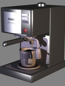 expresso coffee machine 3d model