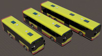 Collection of Solaris Urbino city buses
