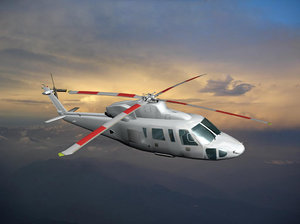 3ds max sikorsky generic white livery