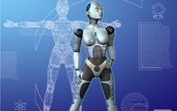 female robot lwo