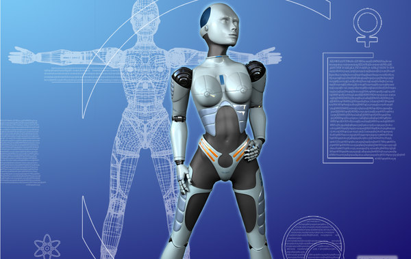 female robot lwo