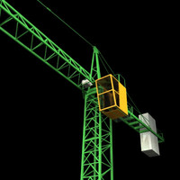 3ds tower crane