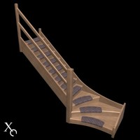 3ds max stairs stairway