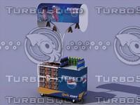 trolley cart 3d model
