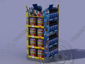 retail display 3d model