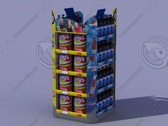 retail display 3d model