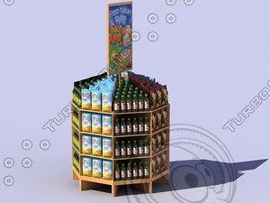 max retail island display