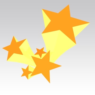 3d star model