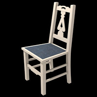 old english chair 3d 3ds