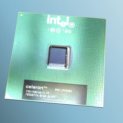 3d max intel celeron processor