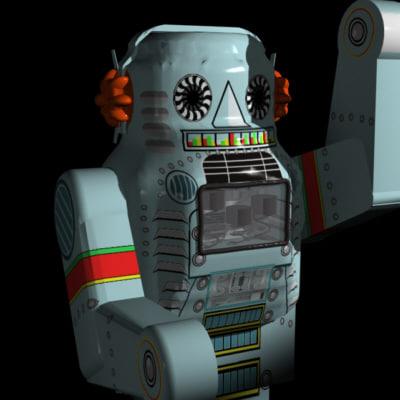3d tin robot
