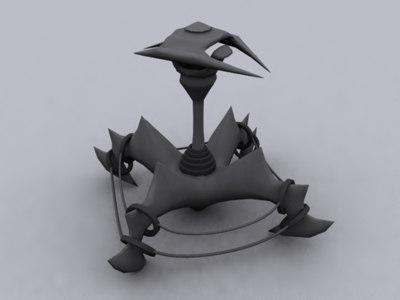 3d lamp post