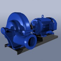 Split Case Pump & Motor