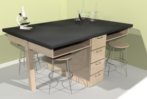 desk science 3d max