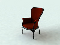 barok chair.c4d