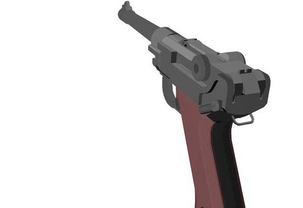 german luger pistol 3ds free