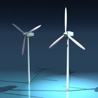 3d generic wind turbine model