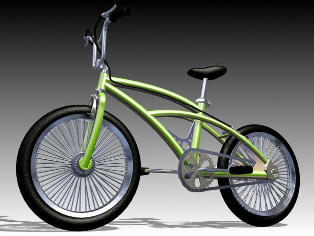 bike bicycle 3d model