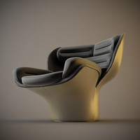 elda chair 3d model