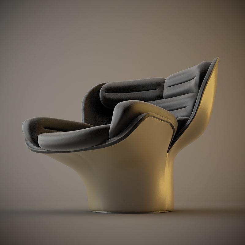 elda chair 3d model