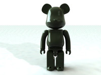 bearbrick medicom toy 3d model