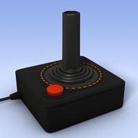 Atari Joystick.c4d