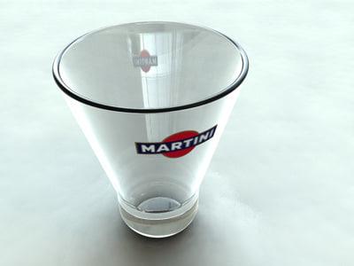 martini glass dxf