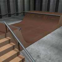 Skate Ramp (Mid)