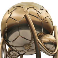 Soccer Trophy Sculpture