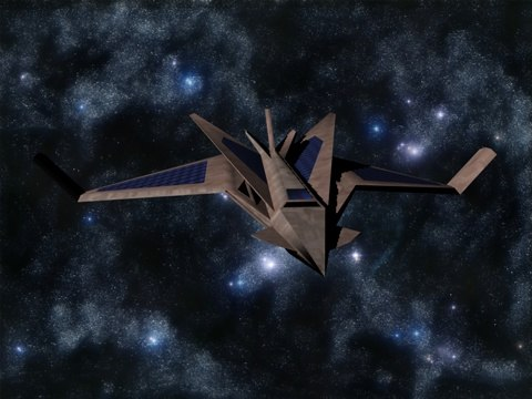 3d model mk2 terahawk fighter