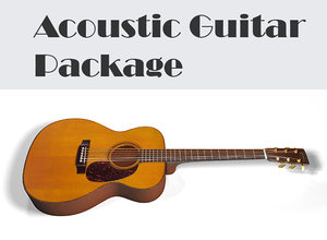 ma acoustic guitar package