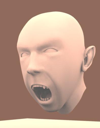 head goblin 3d model