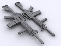 3ds max m4a1