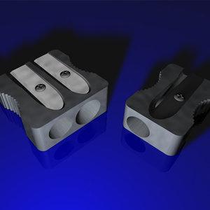 3d model metal sharpener