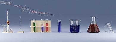 lab scene 3d model