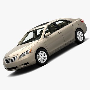 toyota camry 2007 3d 3ds