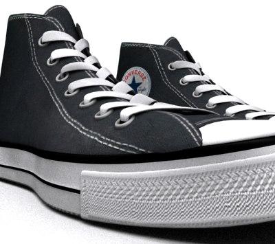 3d model star shoe