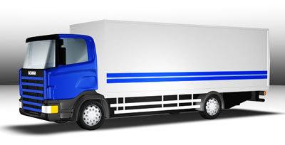 3d scania truck model