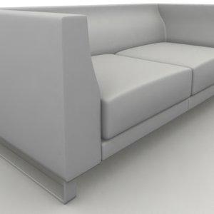 sofa ginevra 3d model