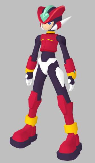 free megaman zero android 3d model