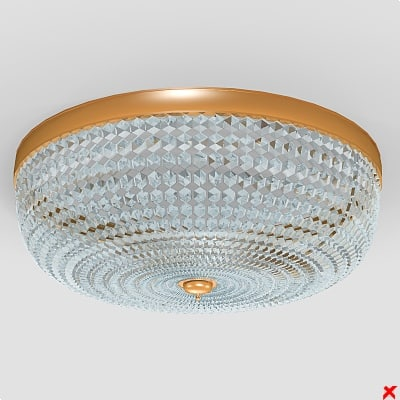 3ds max chandelier lamp crystal