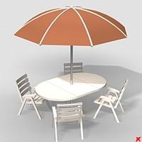 3ds max patio furniture