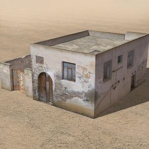 3d arab houses model