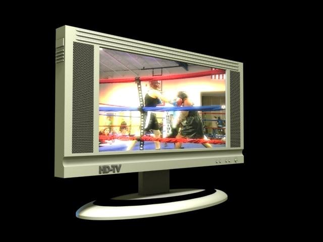 3d model definition television