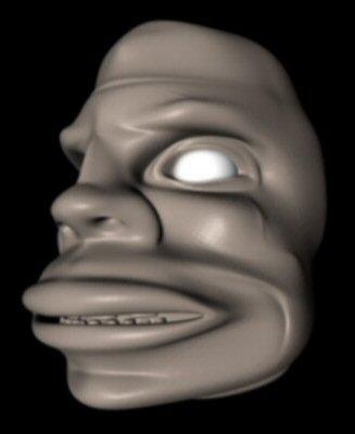 free savage head 3d model