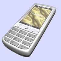 3d model siemens mobile phone