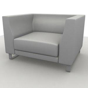 3dsmax sofa ginevra chair