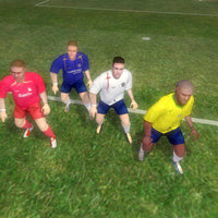 rigged soccer players character 3d model