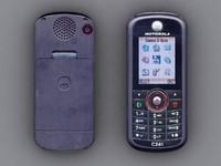 3dsmax motorola c261 cell phone